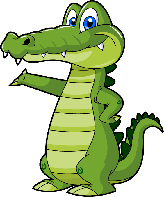 Alligator deals thrifty is. Square clipart cool
