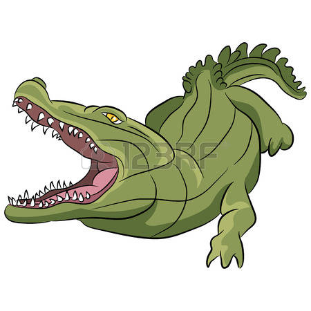 Alligator clipart saltwater crocodile. Closed mouth clipground open