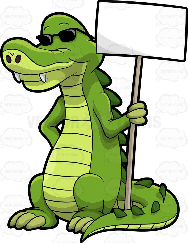 Arthur the alligator holding. Gator clipart swamp louisiana