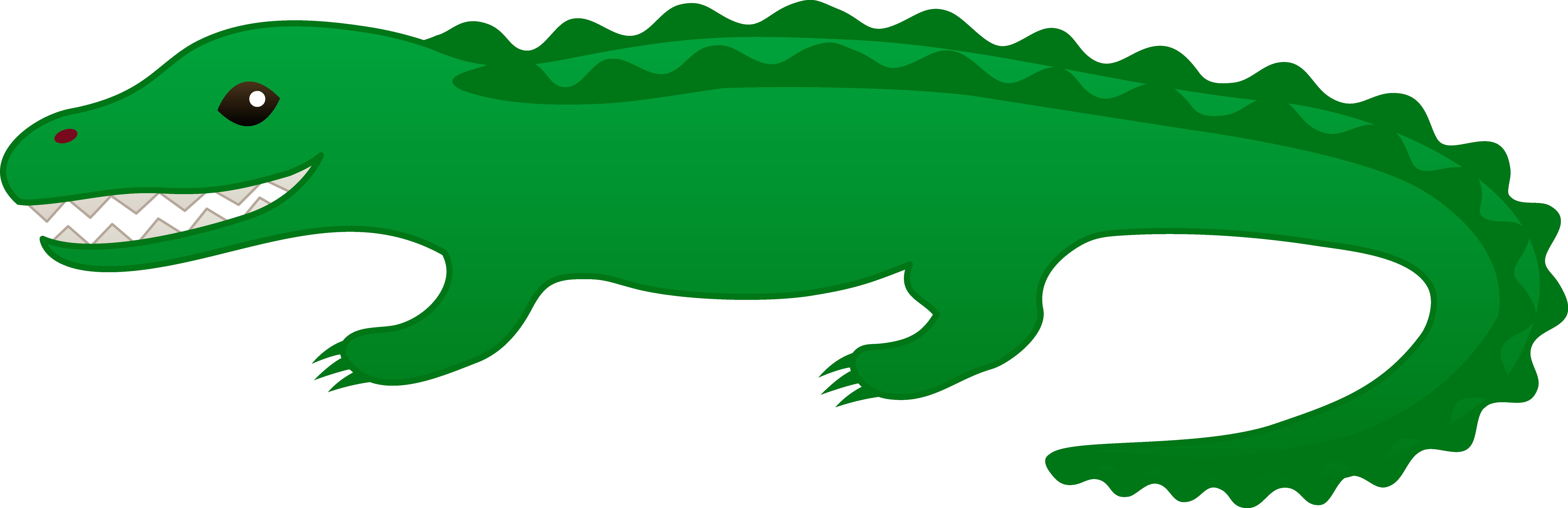 Water clipart cute. Green alligator