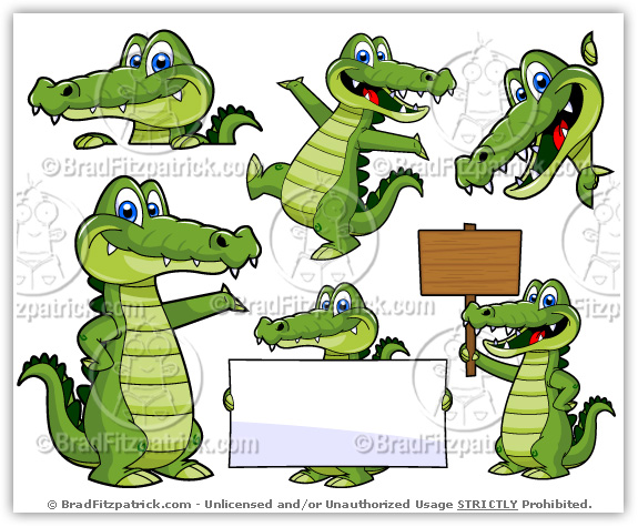 Alligator clipart swimming. Free clip art google
