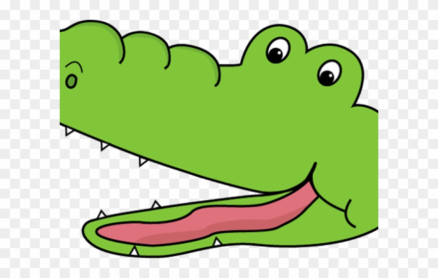 Alligator clipart swimming. Greater than less