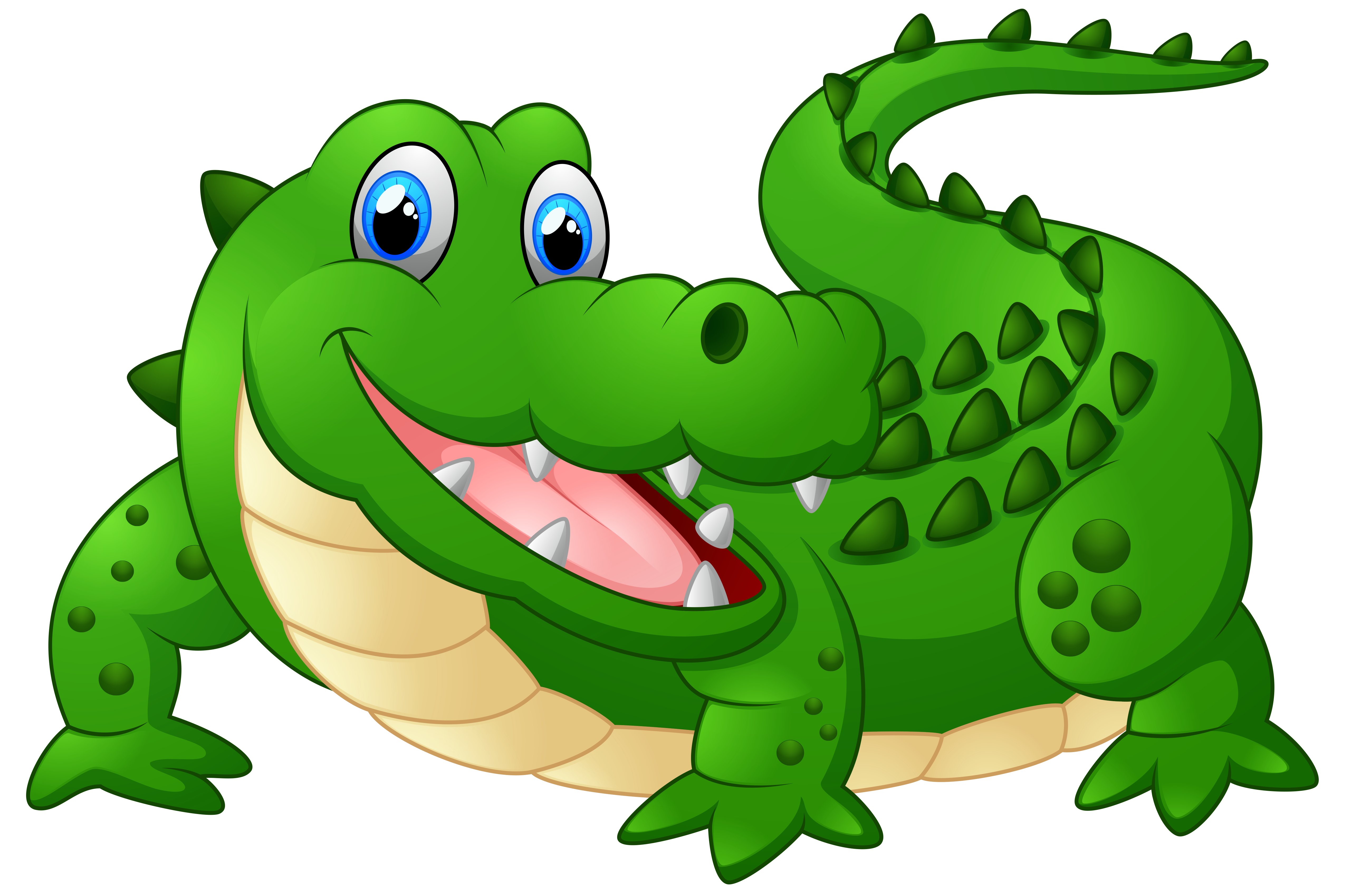 Happy crocodile cartoon png. Clipart volleyball gator
