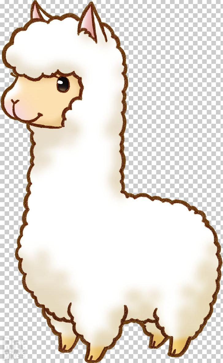 Alpaca clipart. Llama drawing cartoon png