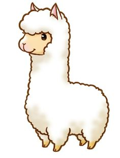 Collection of free download. Kawaii clipart alpaca
