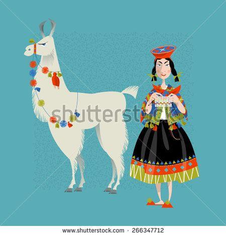 best llamas images. Alpaca clipart ancient inca