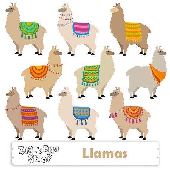 Alpaca clipart ancient inca. Llama clip art cute