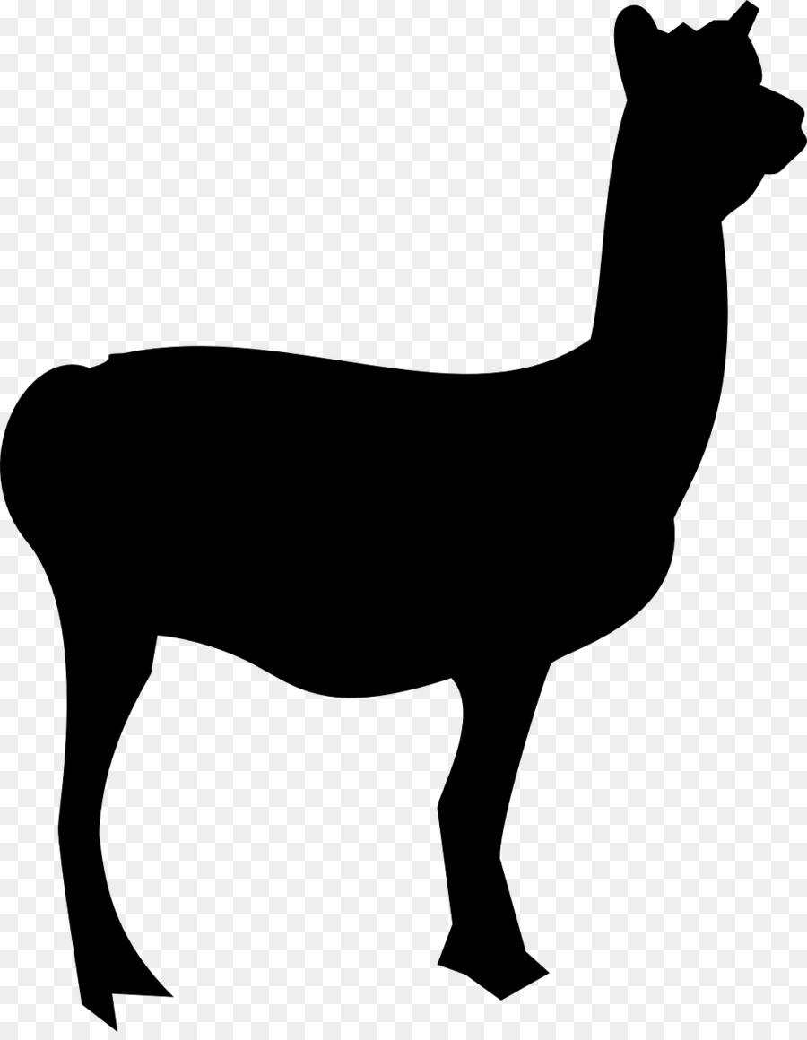 Alpaca clipart animal american. Llama silhouette clip art