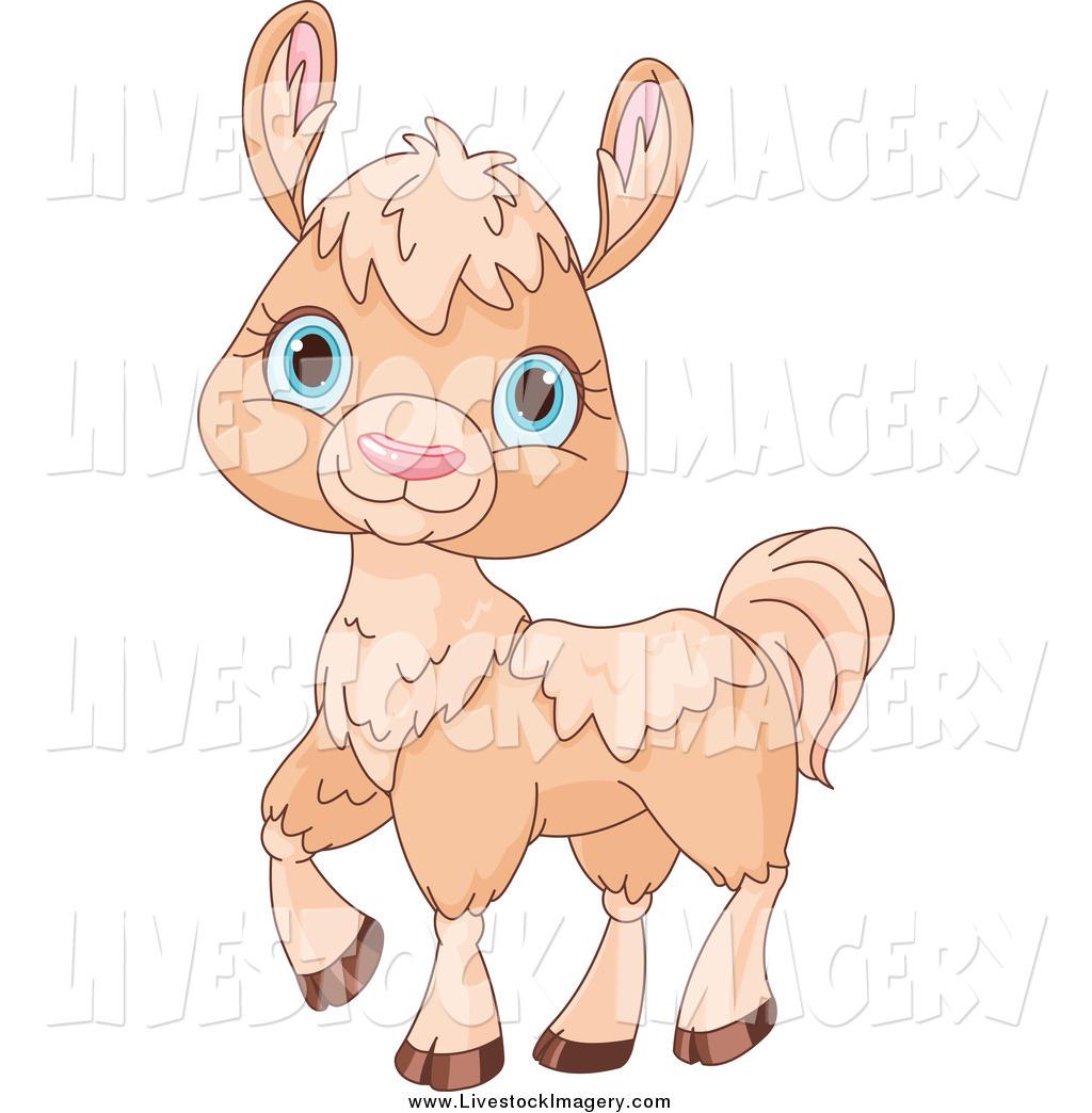 Alpaca clipart baby llama. Clip art of a