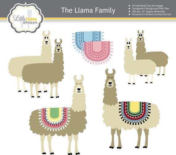 Alpaca clipart baby llama. Clip art commercial use