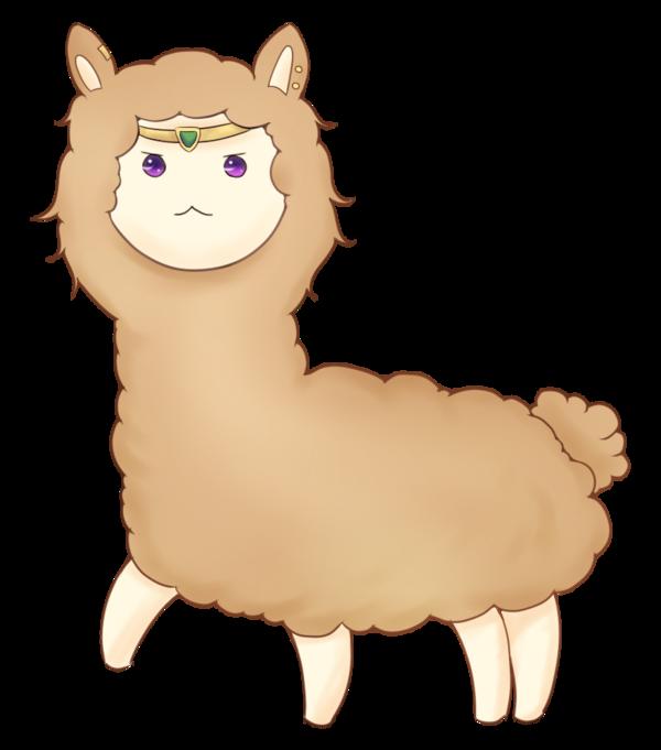 Kawaii clipart alpaca. Seirian chibi by silver