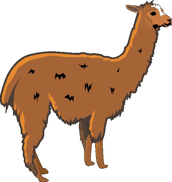 Lama clip art at. Kawaii clipart alpaca