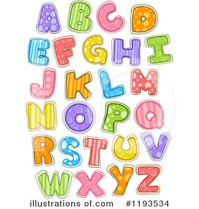 Illustration by bnp design. Alphabet clipart
