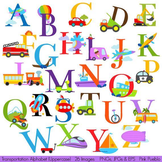 Alphabet clipart.  best clip art
