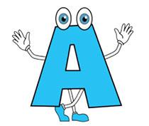 Alphabets gifs . Alphabet clipart animated
