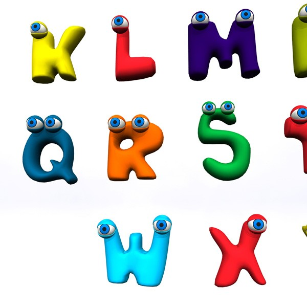 Alphabet clipart animated. Free alphabets download clip