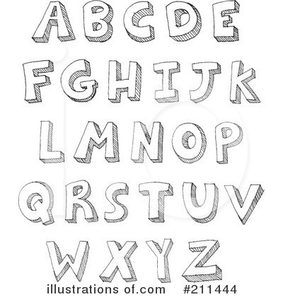 A c ff ccd. Alphabet clipart black and white