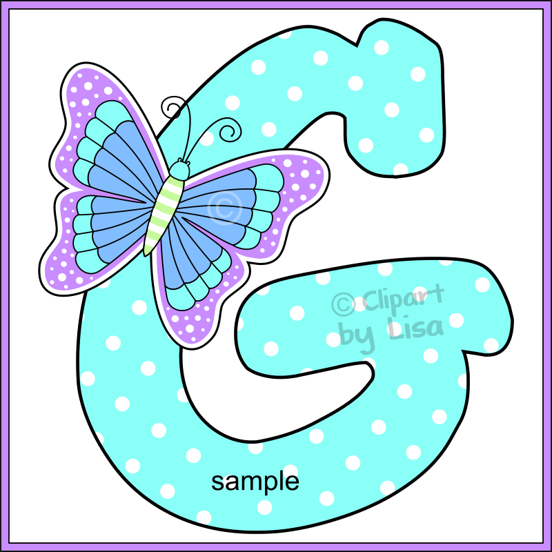 Butterfly clipart alphabet. Zoom