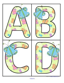 Butterflies clipart alphabet. Free this is a