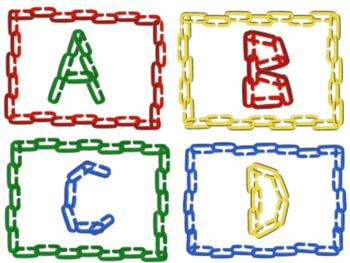 Letters clipart capital. Alphabet clip art with