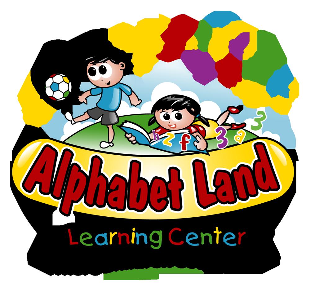 Infant clipart alphabet block. Land learning center logo