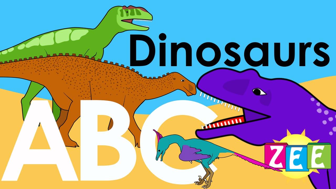 Alphabet clipart dinosaur. Zee abc of dinosaurs