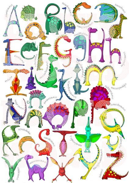 awesome letters printable. Alphabet clipart dinosaur