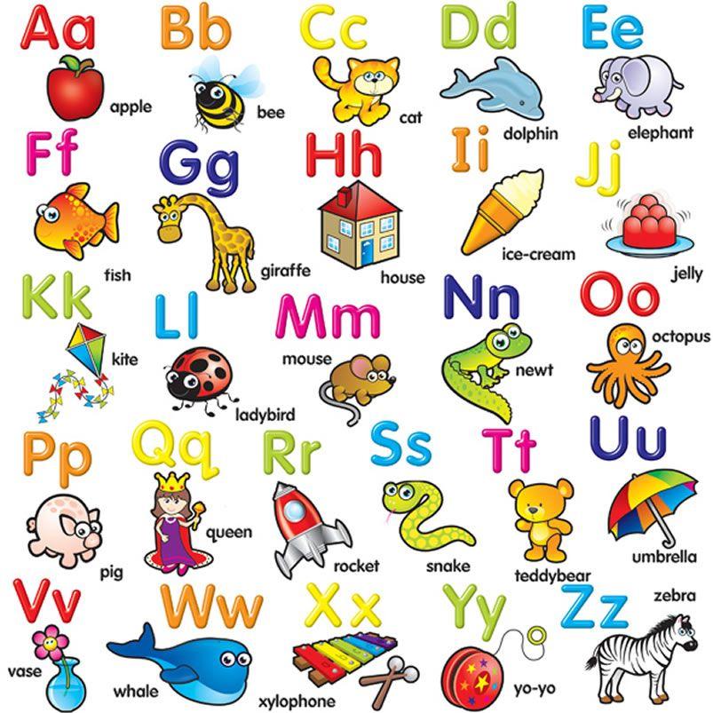 The modern is a. Alphabet clipart english alphabet