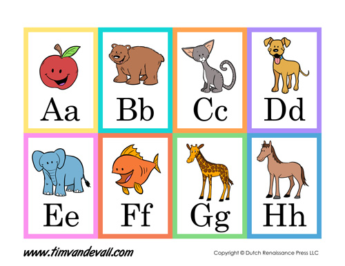 Letters flashcards incep imagine. Alphabet clipart flashcard
