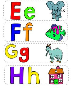 I l flash cards. Alphabet clipart flashcard