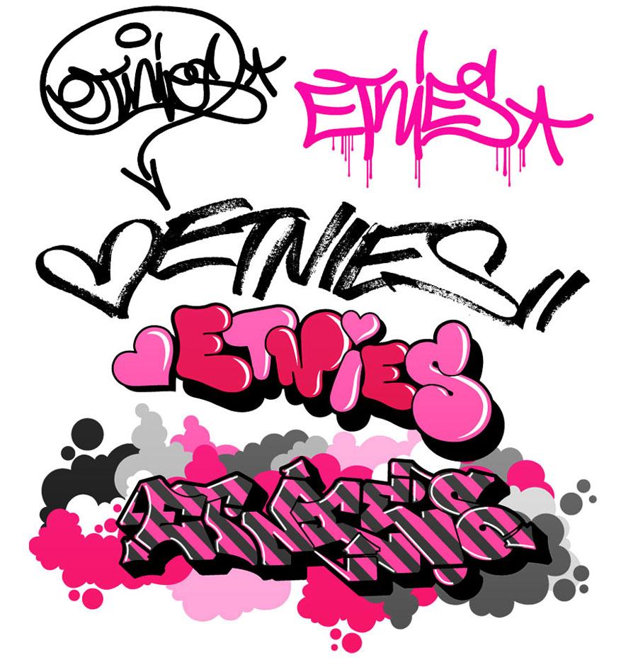 Alphabet clipart graffiti. Designs letters clipartfest