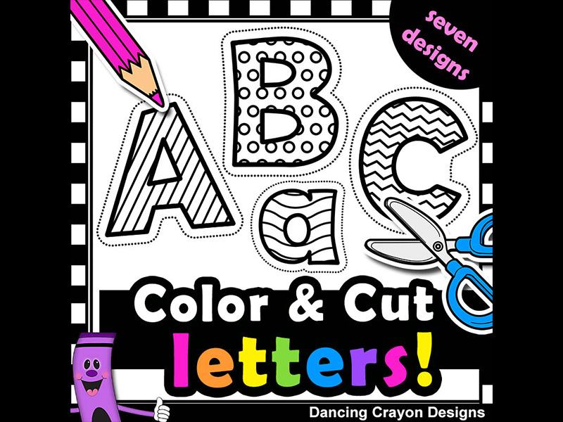 Clip art letters with. Alphabet clipart line