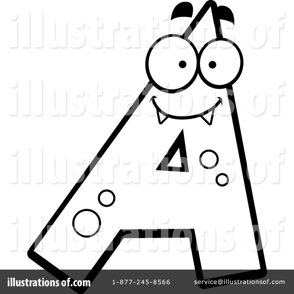 Alphabet clipart line. Illustration by cory thoman