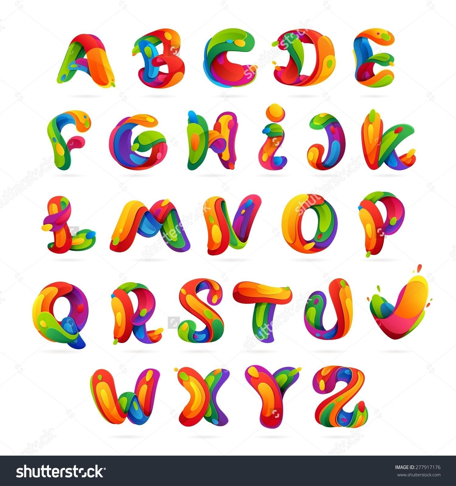 Alphabet clipart printable. Alphabets fresh cute letters