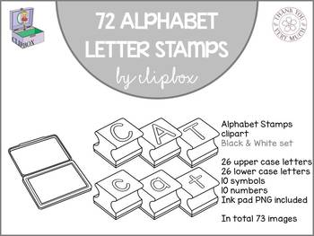 Stamp clipart letter stamp. Alphabet stamps clip art