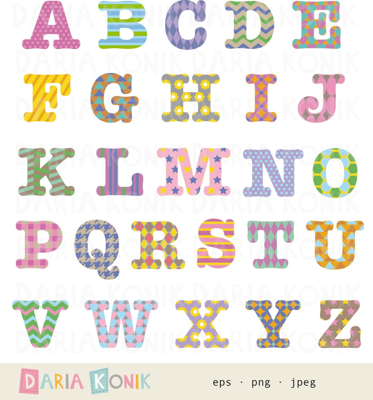 Alphabets fresh cute letters. Alphabet clipart uppercase letter