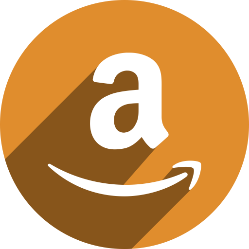 Amazon icon png. Flat page ico