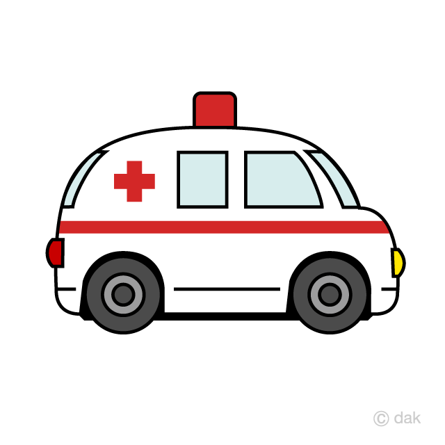 Cute free picture illustoon. Ambulance clipart