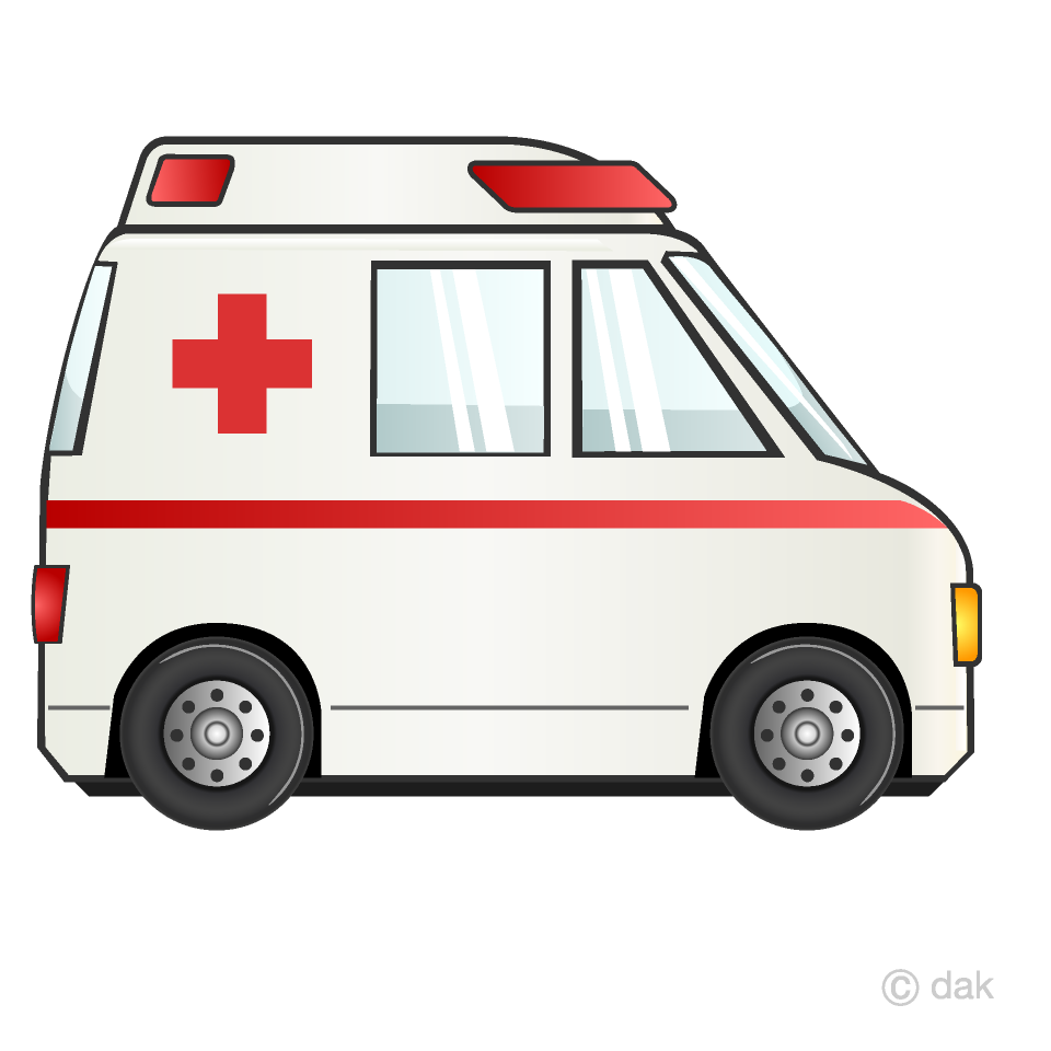 Ambulance clipart. Free picture illustoon