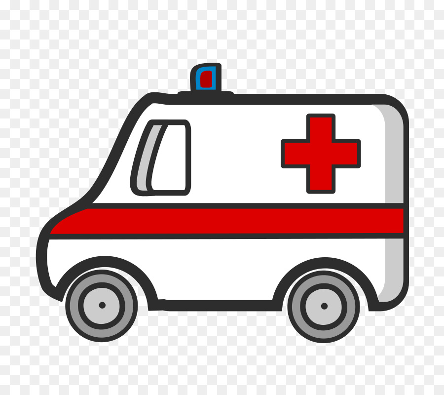 Ambulance clipart. Cartoon car product