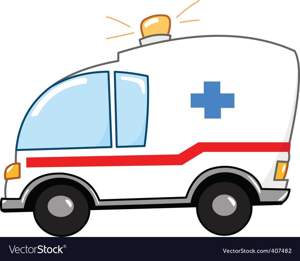 Ambulance clipart ambulance australian. Cartoon royalty free vector
