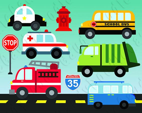 Cars digital firetruck police. Ambulance clipart ambulance truck