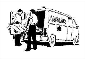 Image clipartandscrap . Ambulance clipart ambulance truck