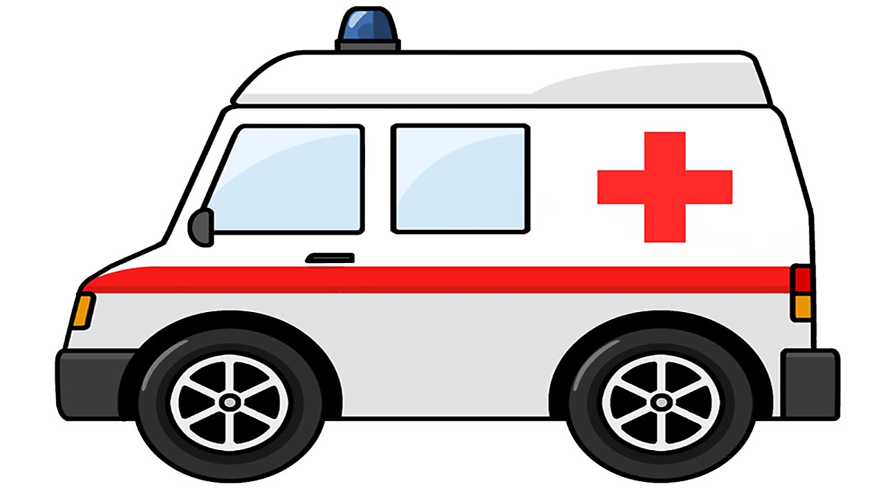 Ambulance clipart animated. Cartoon pictures group cartoons