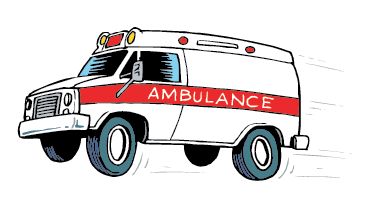Ambulance clipart animated. Click here to see