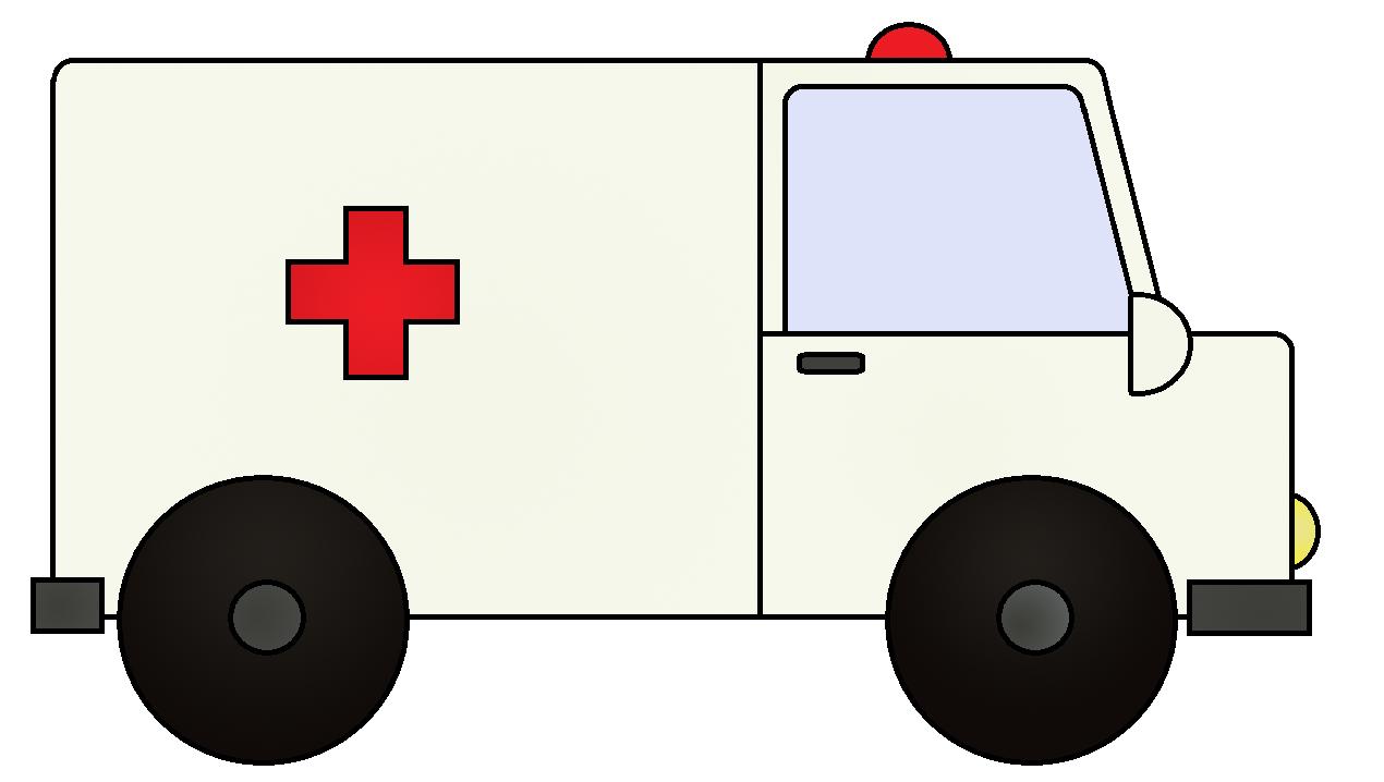 Ambulance graphics and image. Emergency clipart animated