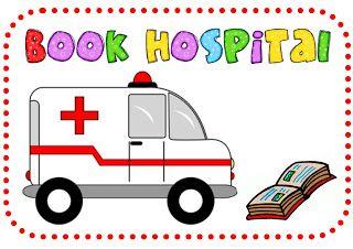 Hospital kids put the. Ambulance clipart book