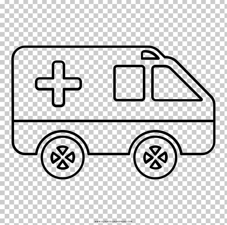 Ambulance clipart book. Car coloring drawing ausmalbild