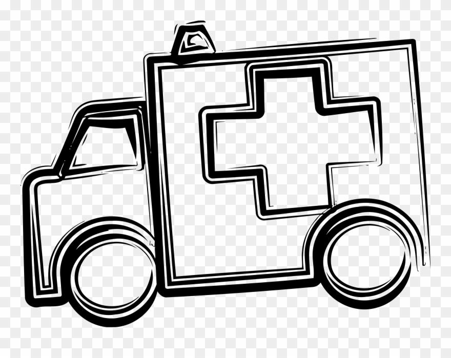 Big image pinclipart . Ambulance clipart book