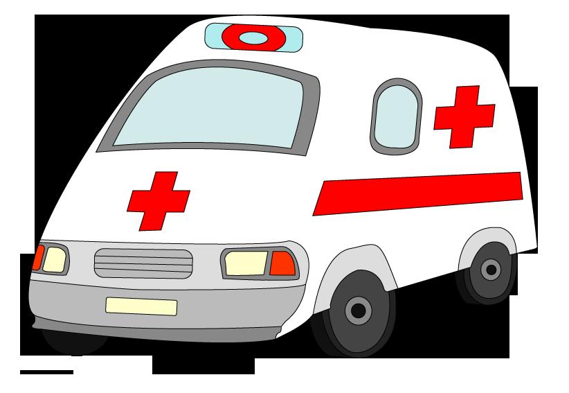 Picture raster. Ambulance clipart clip art